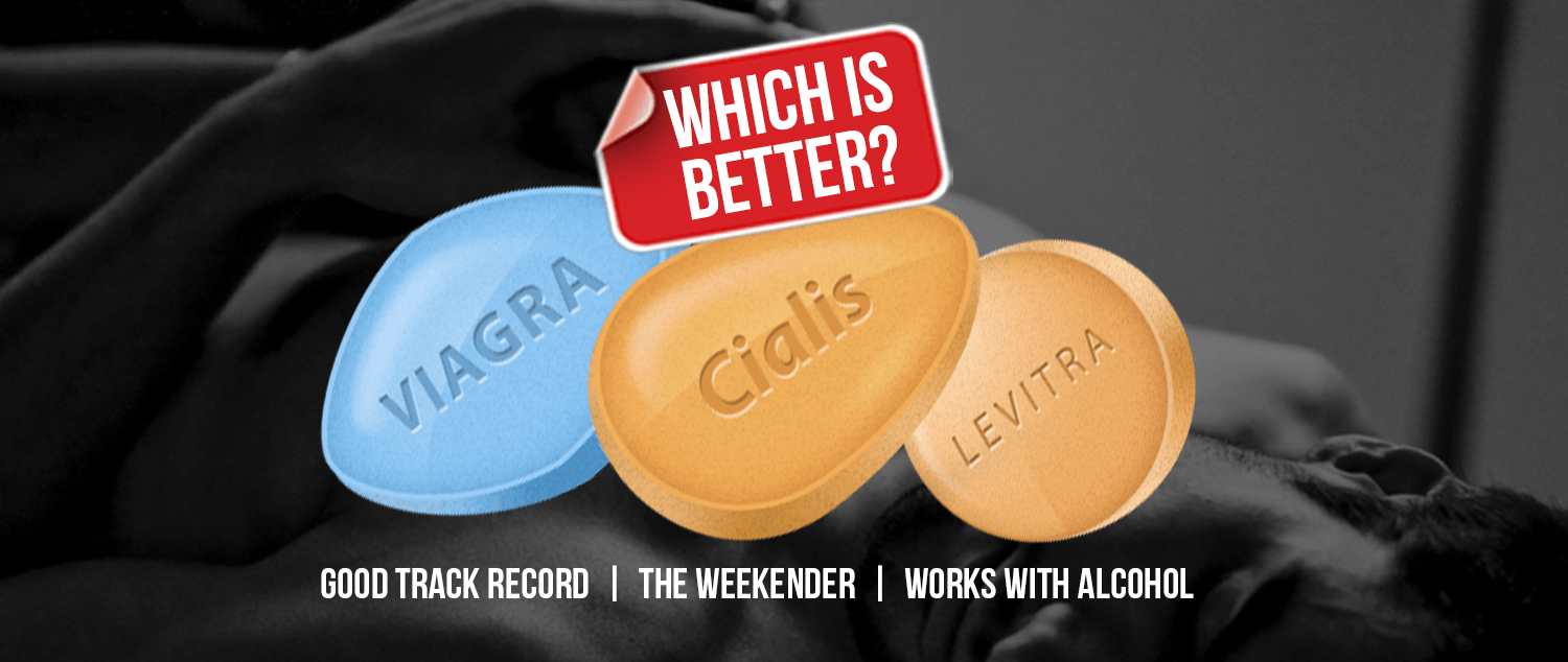 Viagra vs Cialis vs Levitra – Which Is Better?