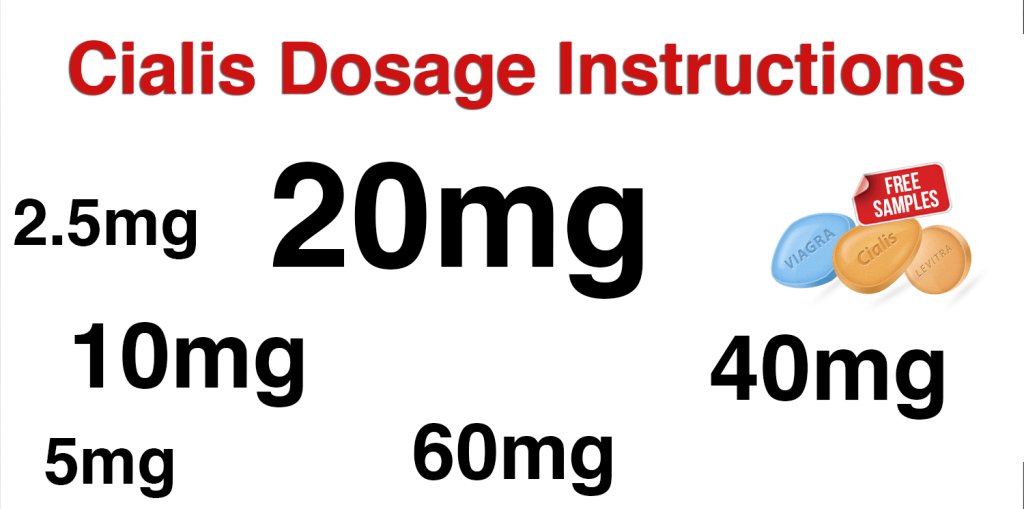 Cialis Dosage Instructions. Cialis 20 mg Dosing Information